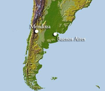 Mendoza Map