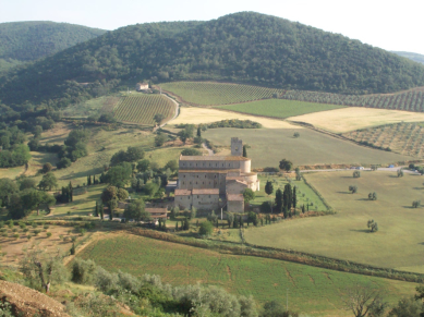 Abbazia Di S. Antimo - Montalcino